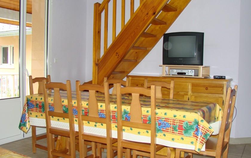 Location de vacances - Appartement à Guchen - Salle à manger-salon d'un autre appartement
