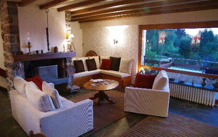 Location de vacances - Chalet à Thollon-les-Mémises