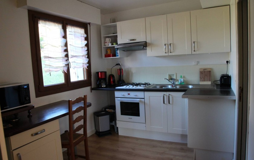 Location de vacances - Appartement à Lélex - Cuisine