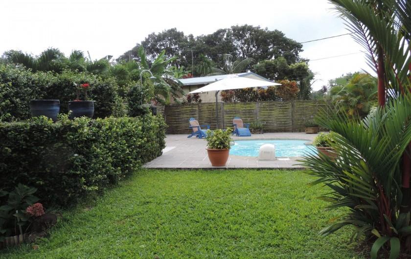 Location de vacances - Villa à Gros-Morne - Piscine