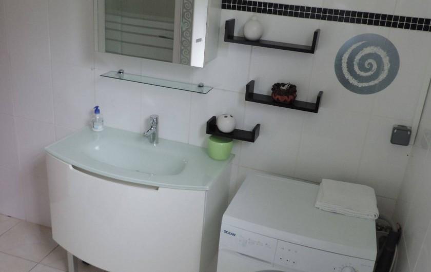 Location de vacances - Villa à Gros-Morne - Salle d'eau