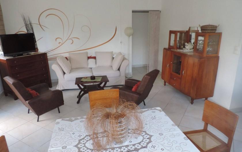 Location de vacances - Villa à Gros-Morne - Séjour
