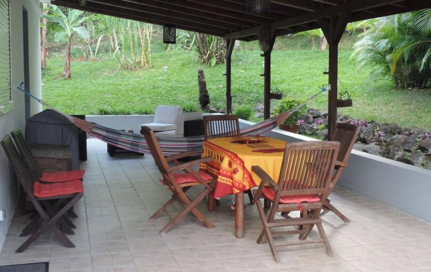 Location de vacances - Villa à Gros-Morne - Terrasse