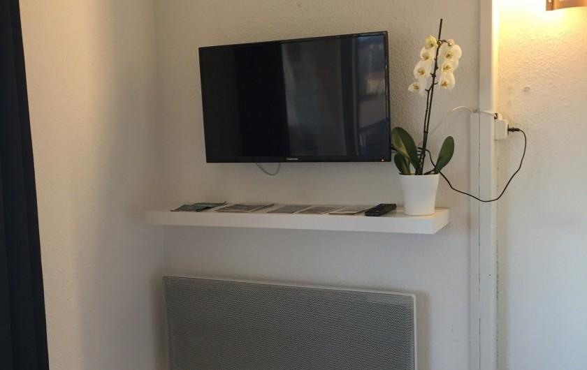 Location de vacances - Appartement à Sète - TV avec wifi