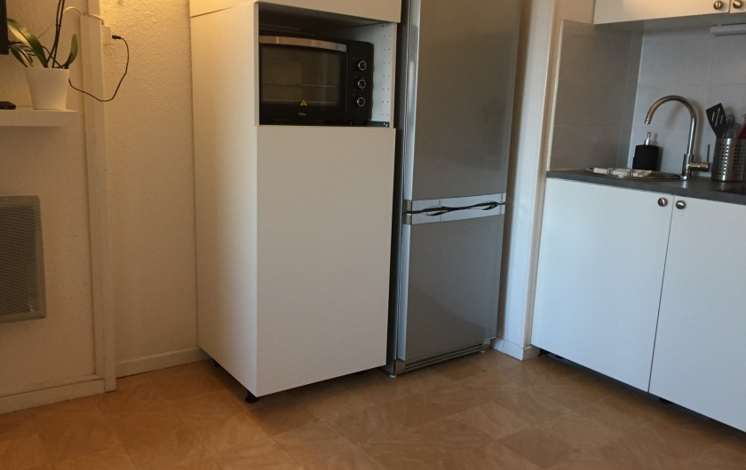 Location de vacances - Appartement à Sète - coin cuisine