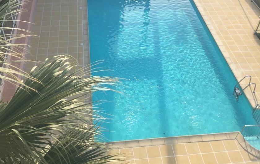 Location de vacances - Appartement à Sète - Piscine
