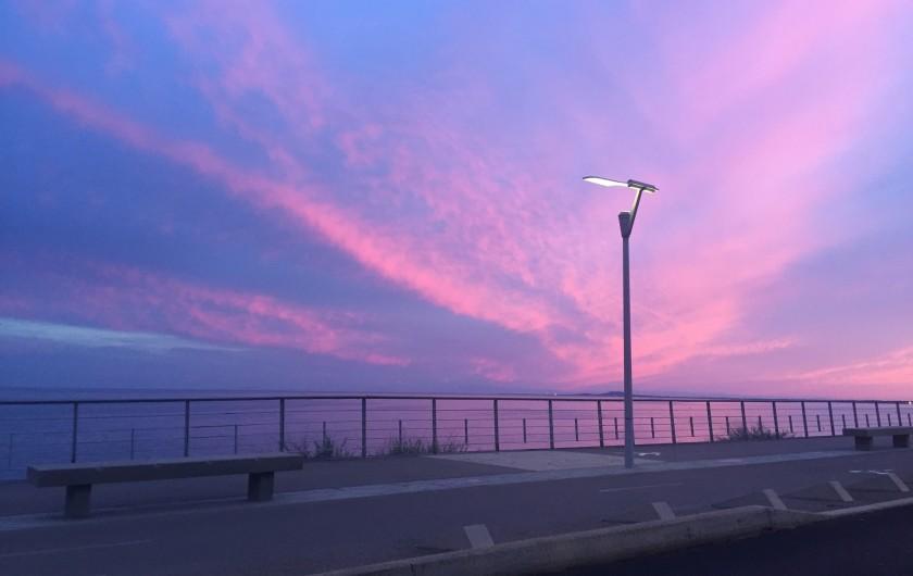 Location de vacances - Appartement à Sète - promenade de la corniche