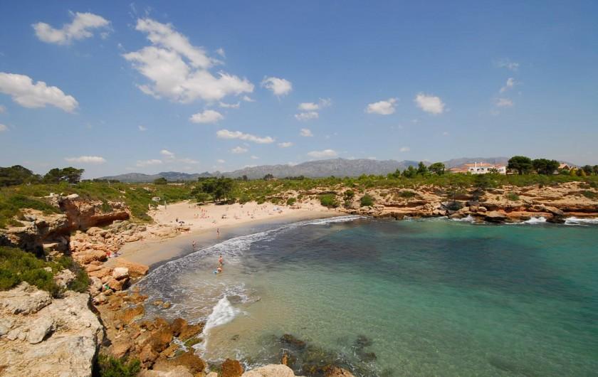 Location de vacances - Villa à L'Ametlla de Mar - Plage