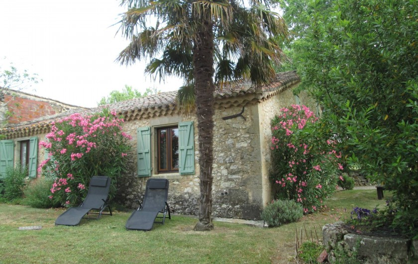 Location de vacances - Gîte à Gondrin - Jardin
