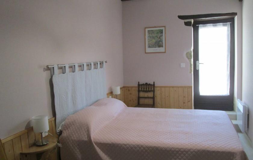 Location de vacances - Gîte à Gondrin - Chambre Nord (lit en 140)