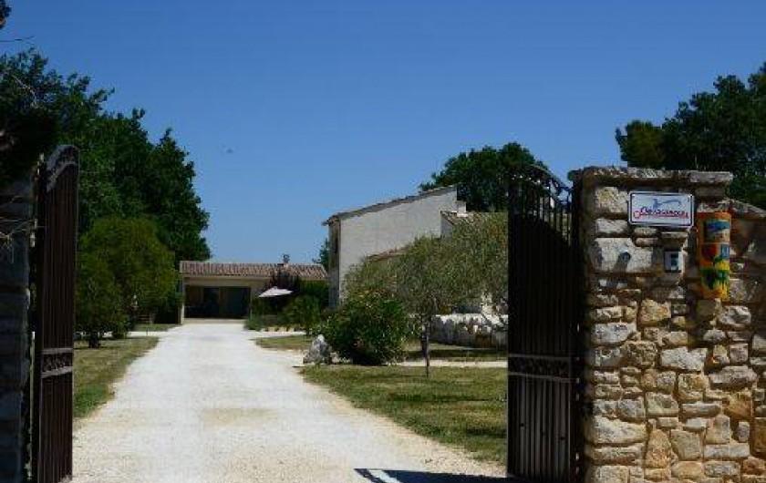 Location de vacances - Gîte à Lézan