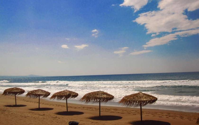 Location de vacances - Chalet à Kakovatos - PLAGE FIN OCTOBRE !