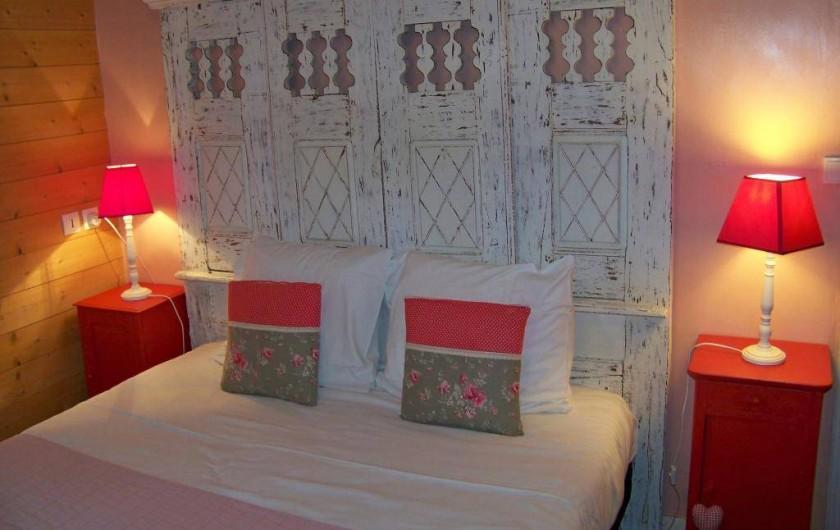 Location de vacances - Maison - Villa à Pontorson - Chambre Fraise Tagada