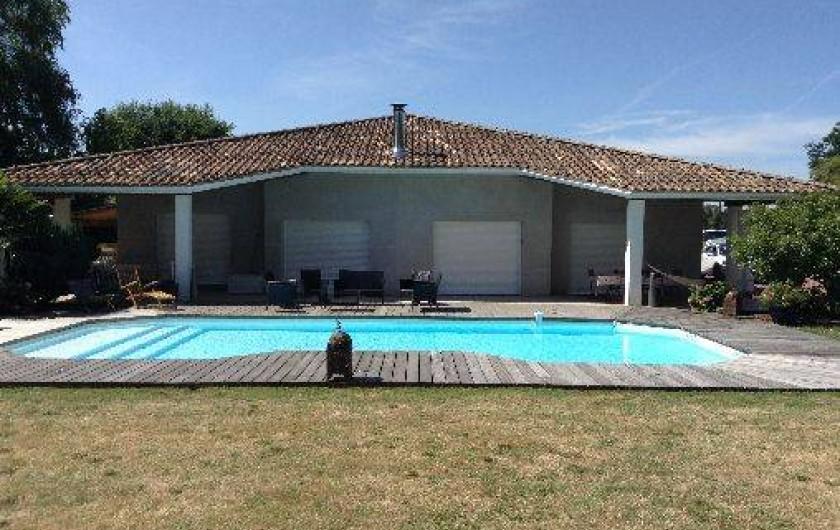 Superbe villa avec piscine priv e la lande de fronsac en for Residence vacances avec piscine privee