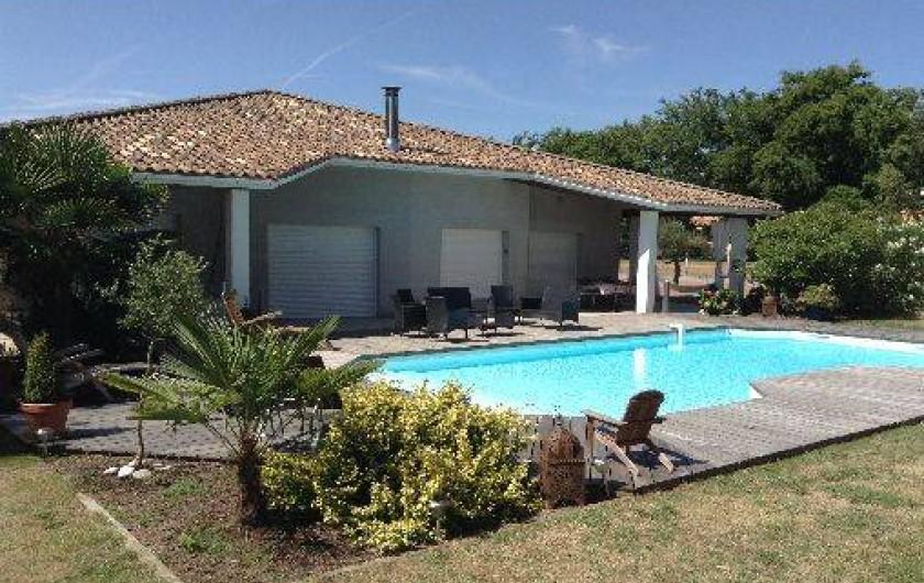 Location de vacances - Villa à La Lande-de-Fronsac