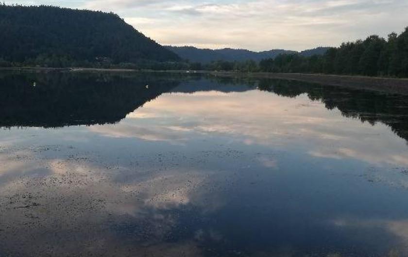 Location de vacances - Gîte à Allarmont - lac de pierre percée 12 km