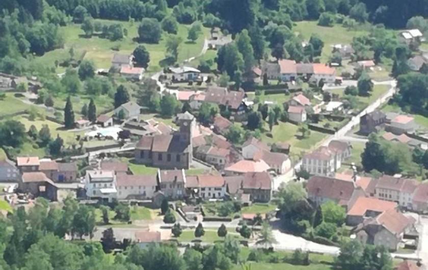 Location de vacances - Gîte à Allarmont - Allarmont vu du relais