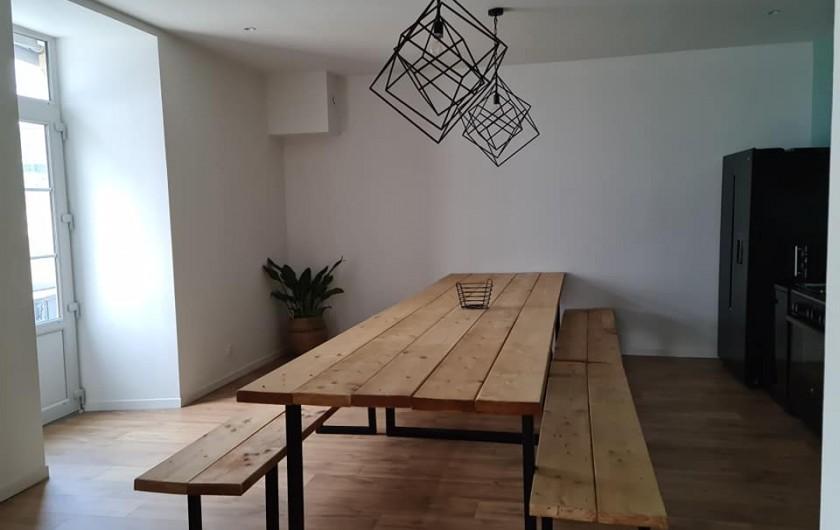 Location de vacances - Gîte à Bournezeau - Table de cuisine