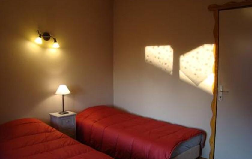 Location de vacances - Chalet à Senones - SOYOTTE : 6 chambres toutes avec sanitaires (PMR)