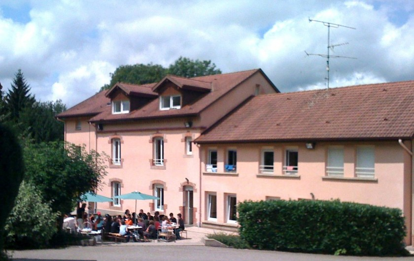 Location de vacances - Chalet à Senones - CHAUMES - LA FORAIN Gîte de groupe - 11 à 16 chambres - 55/80 pers.