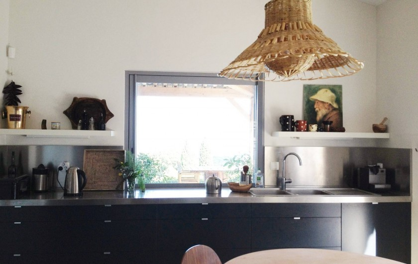 Location de vacances - Villa à Sainte-Maxime - cuisine