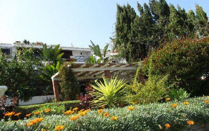 Location de vacances - Villa à Almuñécar - jardin
