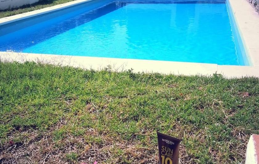 Location de vacances - Villa à Almuñécar - piscine
