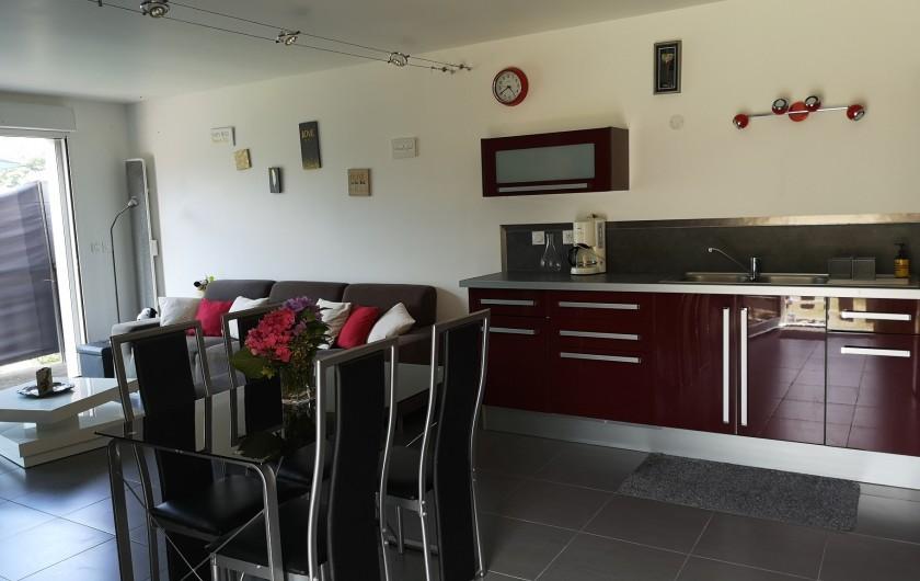 Location de vacances - Villa à Séchilienne - coin repas