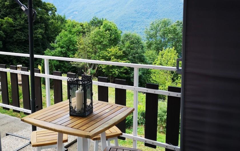 Location de vacances - Villa à Séchilienne - vue du balcon