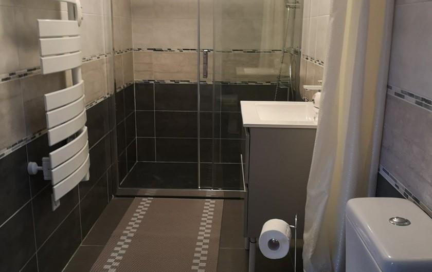 Location de vacances - Villa à Séchilienne - Les sanitaires