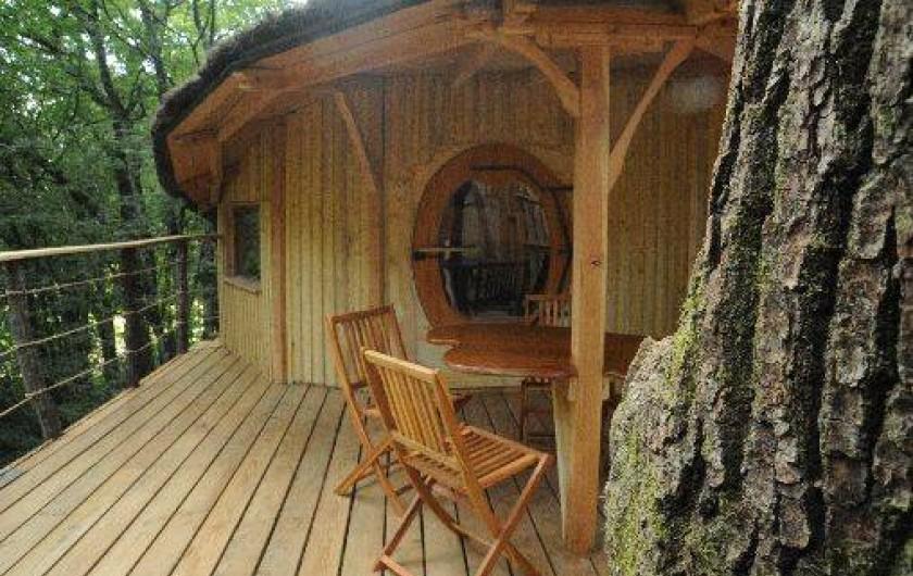 Location de vacances - Cabane dans les arbres à Ranchot