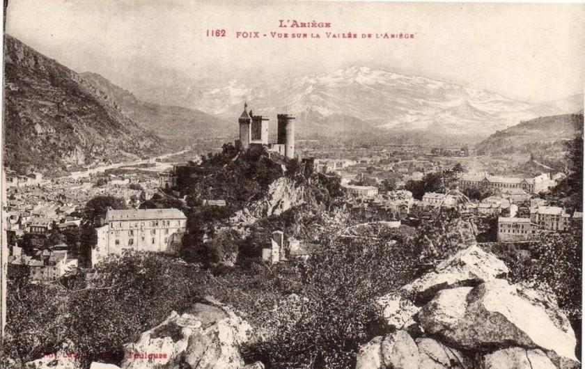 Location de vacances - Chambre d'hôtes à Foix - ANCIENNE PHOTO DE L'ARIÈGE FOIX