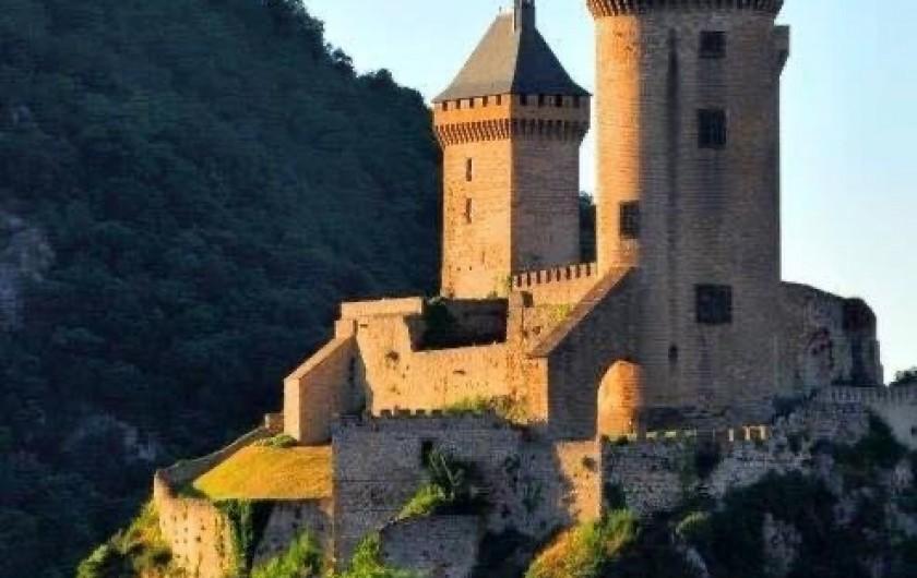 Location de vacances - Chambre d'hôtes à Foix - CHÂTEAU DE FOIX
