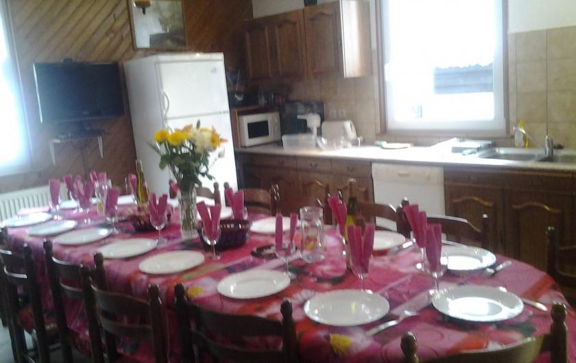 Location de vacances - Maison - Villa à Ban-sur-Meurthe-Clefcy - Avec cuisine à l 'américaine