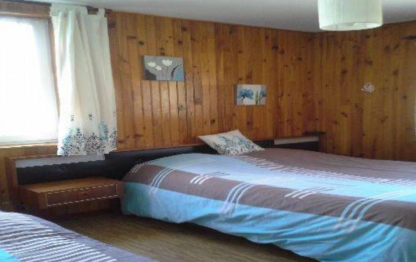 Location de vacances - Maison - Villa à Ban-sur-Meurthe-Clefcy - chambre n 1 pour  2 personnes