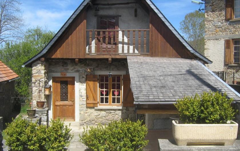 Location de vacances - Maison - Villa à Arrien-en-Bethmale - La maison.