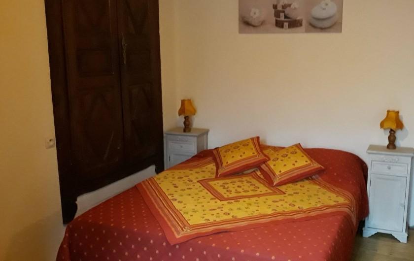 Location de vacances - Maison - Villa à Arrien-en-Bethmale - Chambre 2 (1 lit).