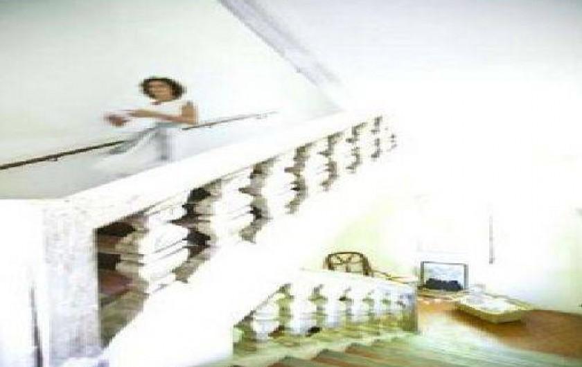 Location de vacances - Chambre d'hôtes à Riez - Escalier principale en Gypse fin 17Emme