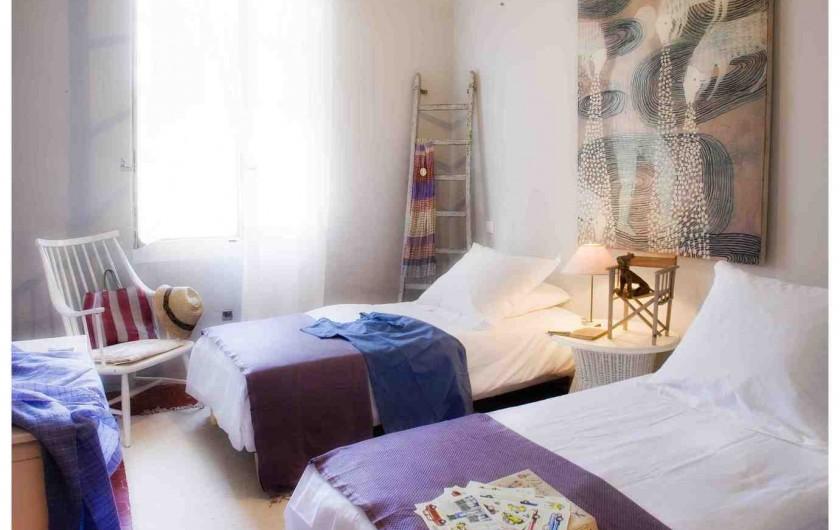 Location de vacances - Chambre d'hôtes à Riez - suite familiale  2 eme chambre