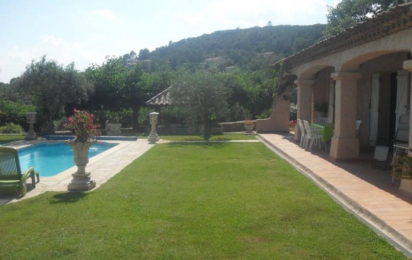 Location de vacances - Villa à Cabasse