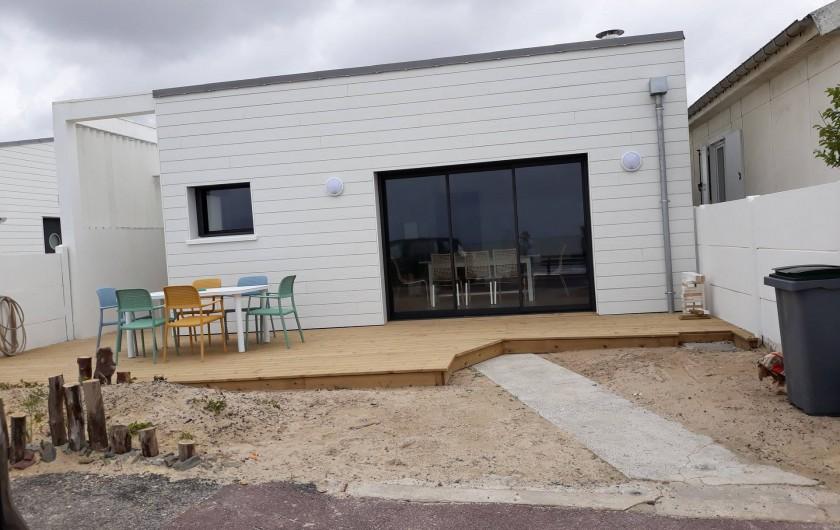 Location de vacances - Appartement à Pirou - Maison face à la mer
