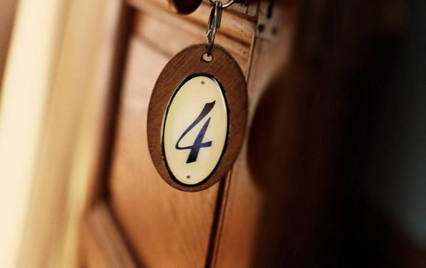 Location de vacances - Chambre d'hôtes à Saint-Priest-Bramefant - Chambre 4 : Peau d'âne