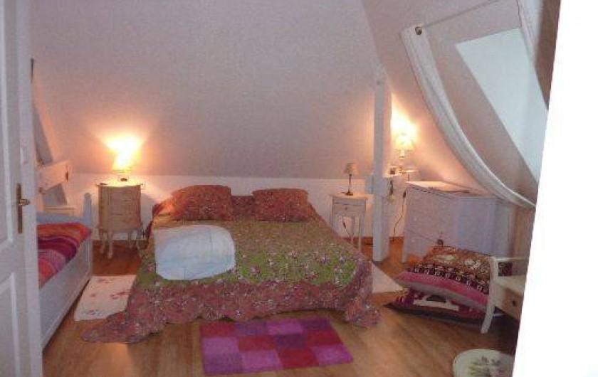 Location de vacances - Chambre d'hôtes à Saint-Raphaël - chambre Kipling 1 grand lit ou 2 singles