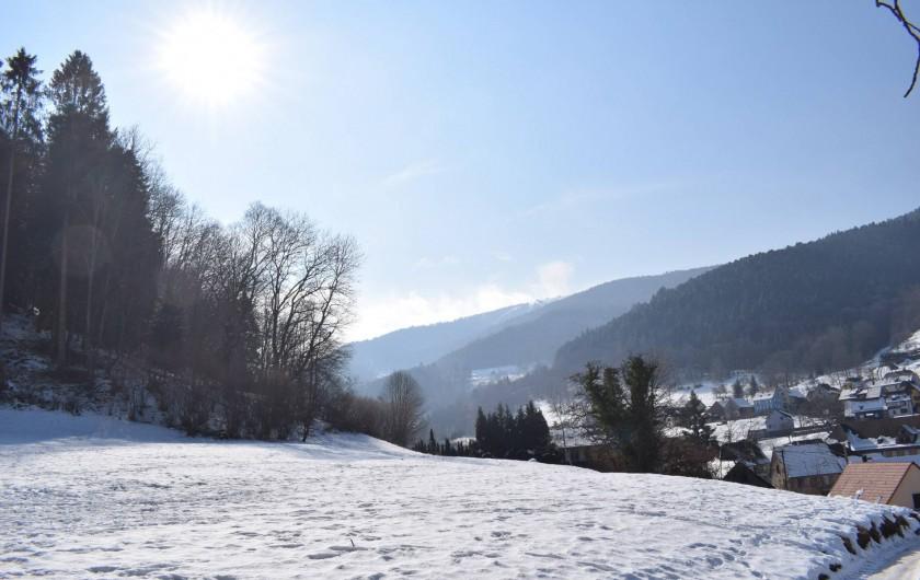 Location de vacances - Gîte à Sondernach - Le Schnepf vu depuis nos gîtes