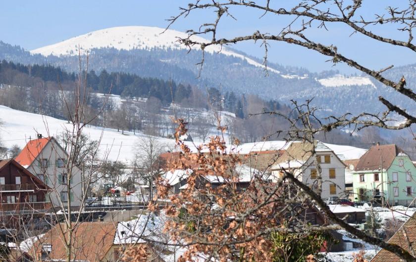 Location de vacances - Gîte à Sondernach - Le Gaschney vu depuis nos gîtes