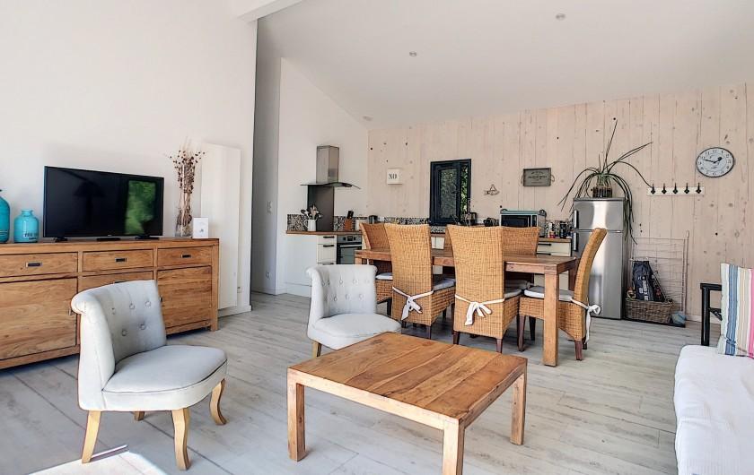 Location de vacances - Villa à Barbâtre - salon-séjour
