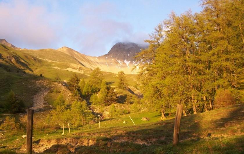 Location de vacances - Chalet à La Bréole - Vallée de La Blanche