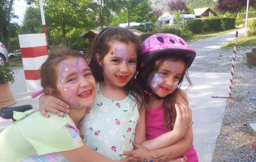 Location de vacances - Chalet à La Bréole - Maquillage enfants
