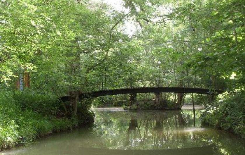 Location de vacances - Gîte à Bouillé-Courdault - Marais poitevin