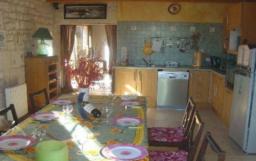 Location de vacances - Gîte à Bouillé-Courdault - Cuisine